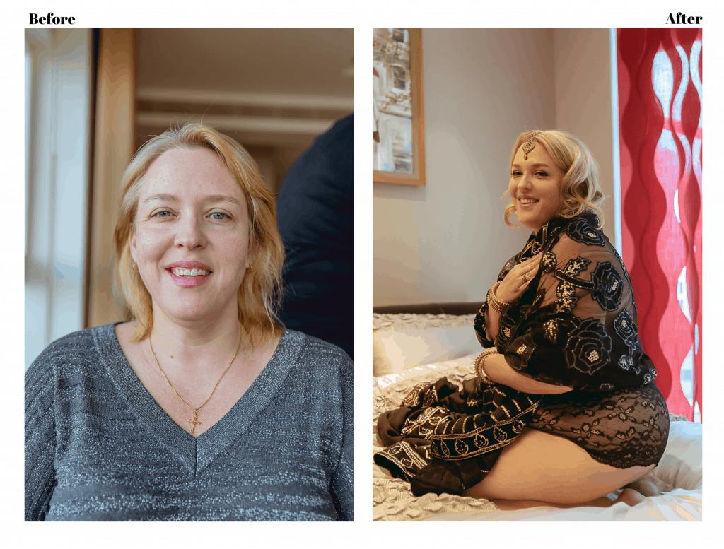 London boudoir photography