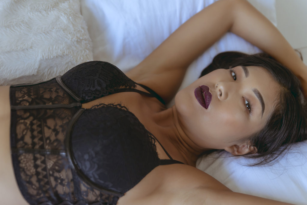 Luxury boudoir photographer