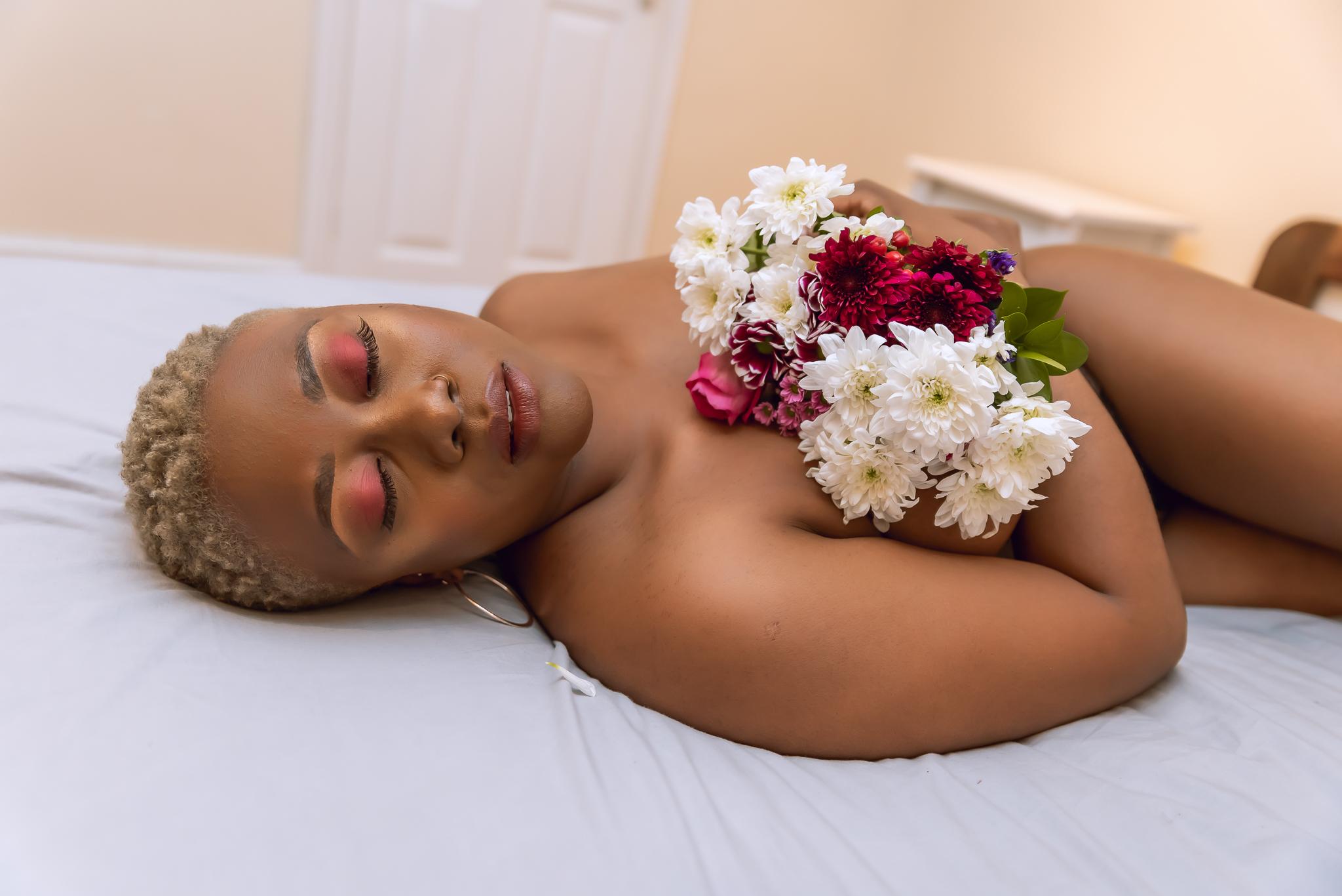 Black woman boudoir london-33