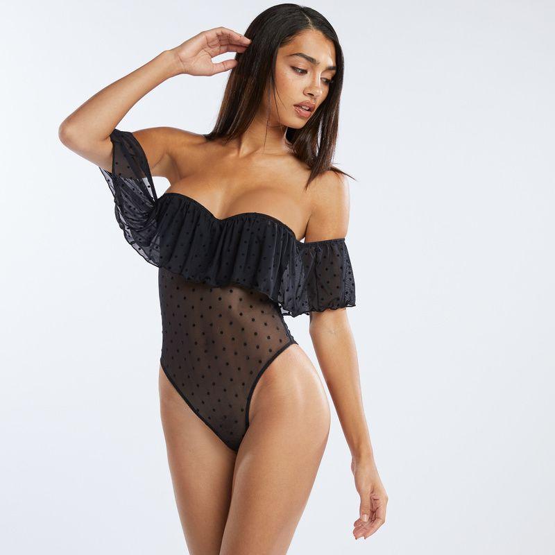 bodysuit boudoir outfit