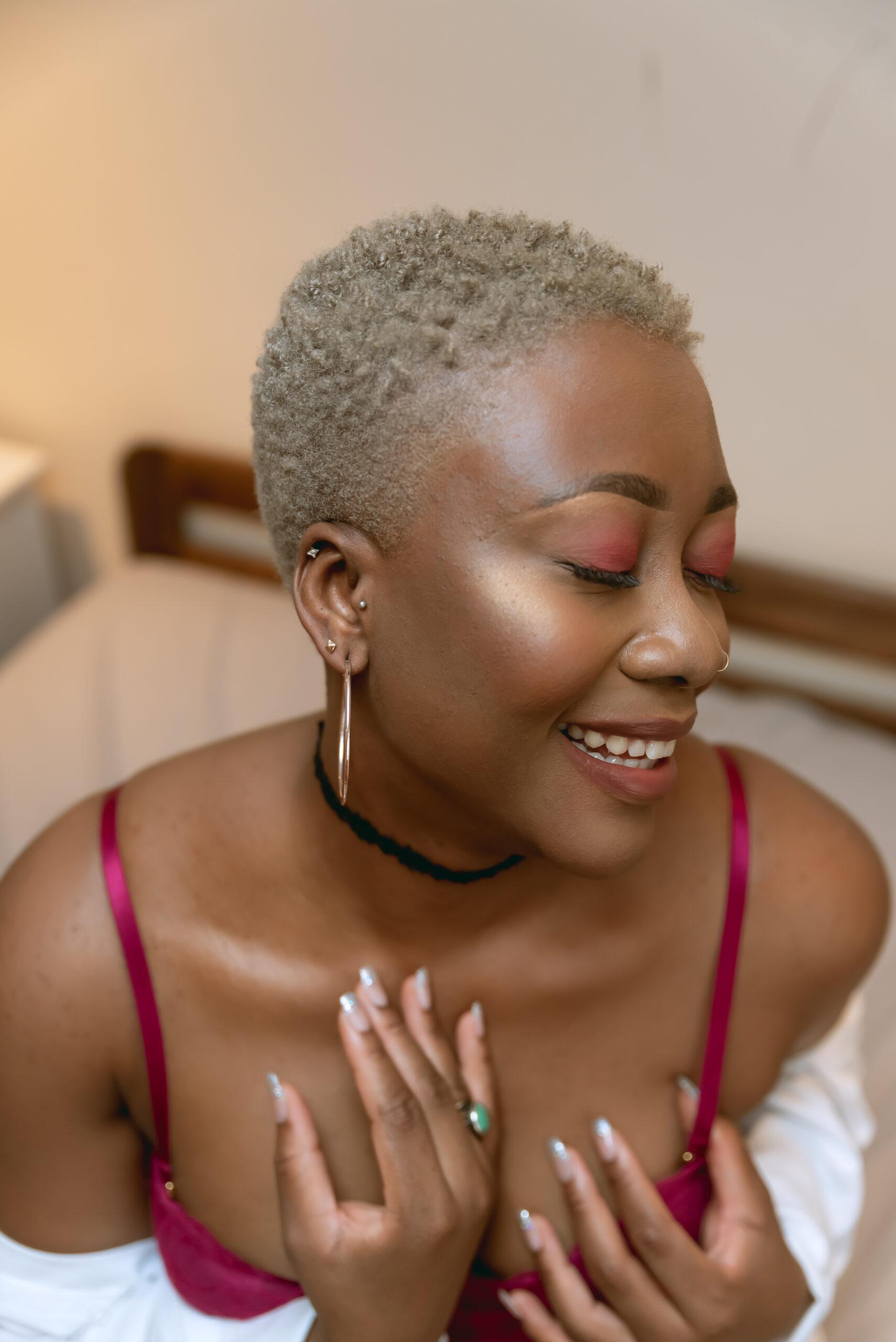 Black woman boudoir london-24