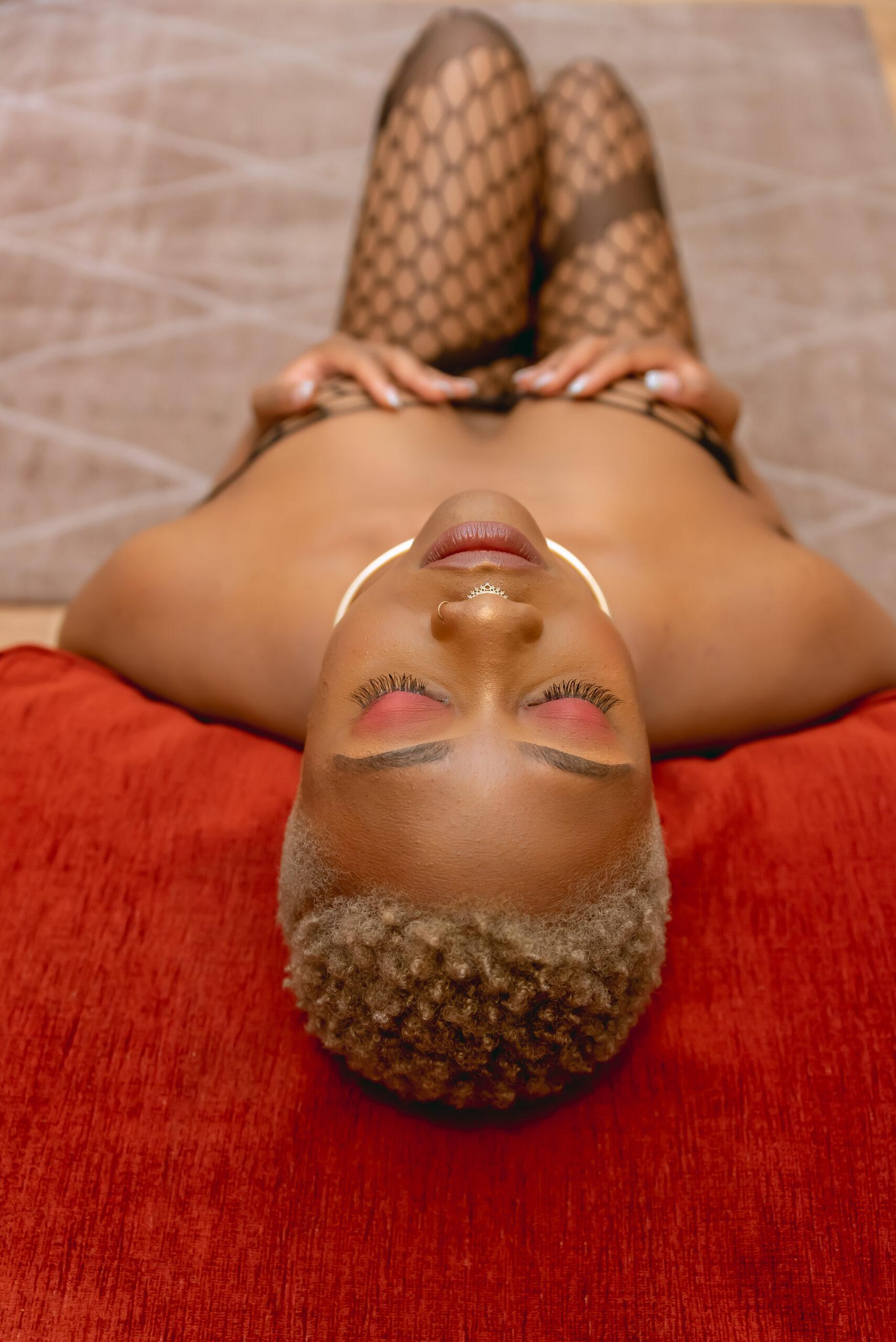 Black woman boudoir london-15