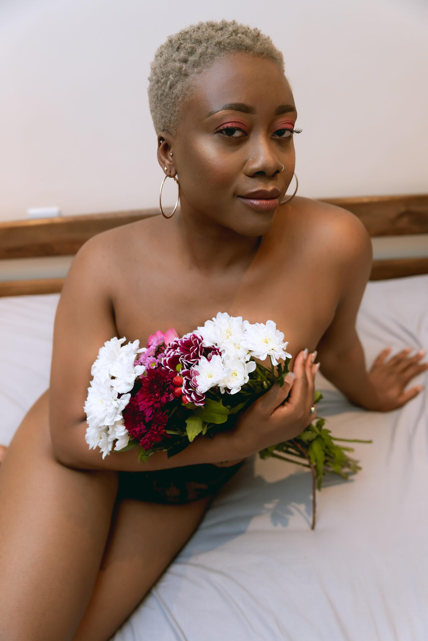 Black woman boudoir london-35